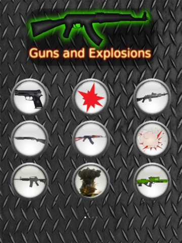 Guns and Explosions - náhled
