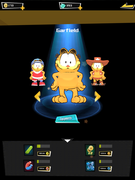Garfield Run: Road Tour screenshot 9