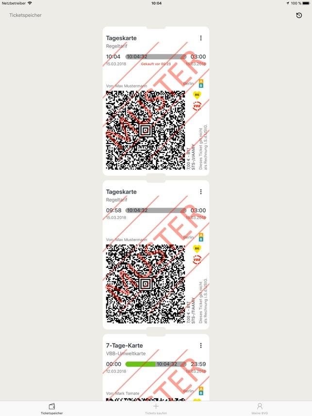 4 Fahrten Karte Bvg.Bvg Tickets Im App Store