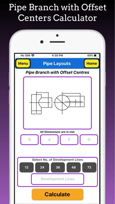 Branch Pipe Layouts Pro screenshot 6