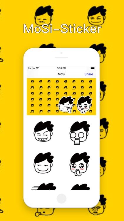 MoSi-Sticker