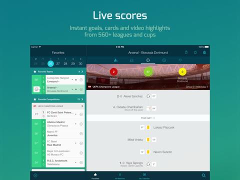 Forza Football - Live Scores - náhled