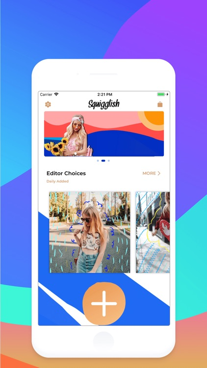 Get Squiggle Brush for Photos