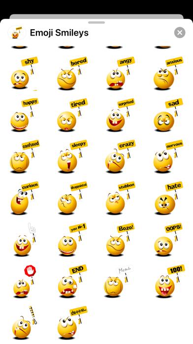 Emoji Smiley Signs Stickers Screenshot