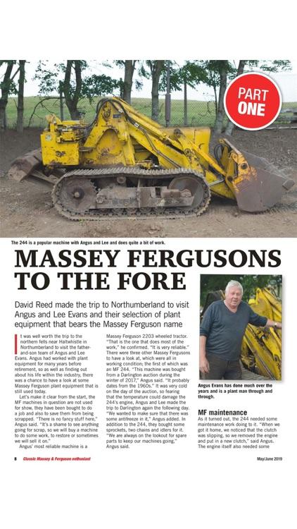 Classic Massey Magazine screenshot-7