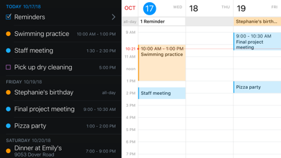 Fantastical 2 for iPhone Screenshots