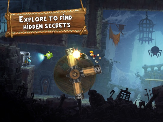 Rayman Adventures Screenshots