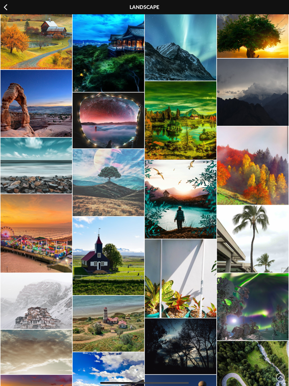 PhotoX Pro Top Live Wallpapers Screenshots