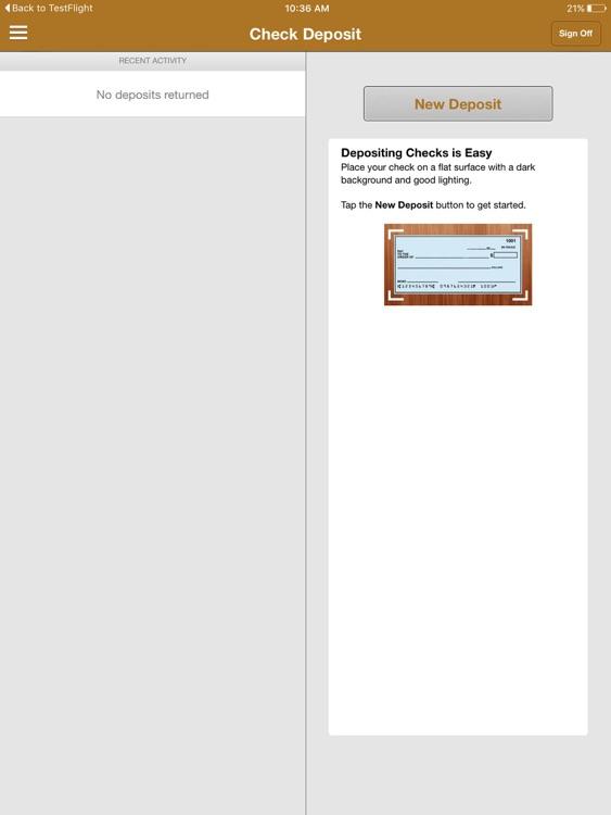 EverTrust Bank Mobile for iPad screenshot-3