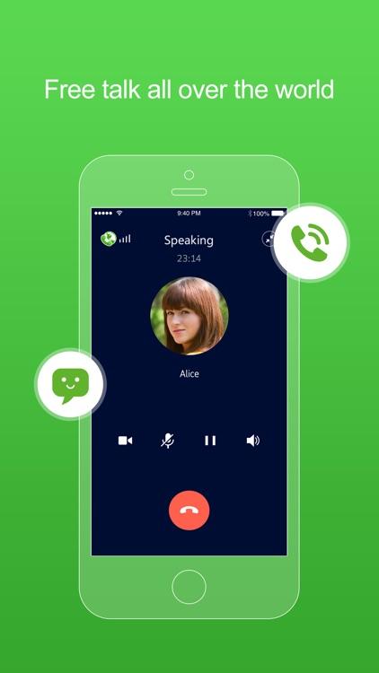 FreePP-Call Chat Message screenshot-0