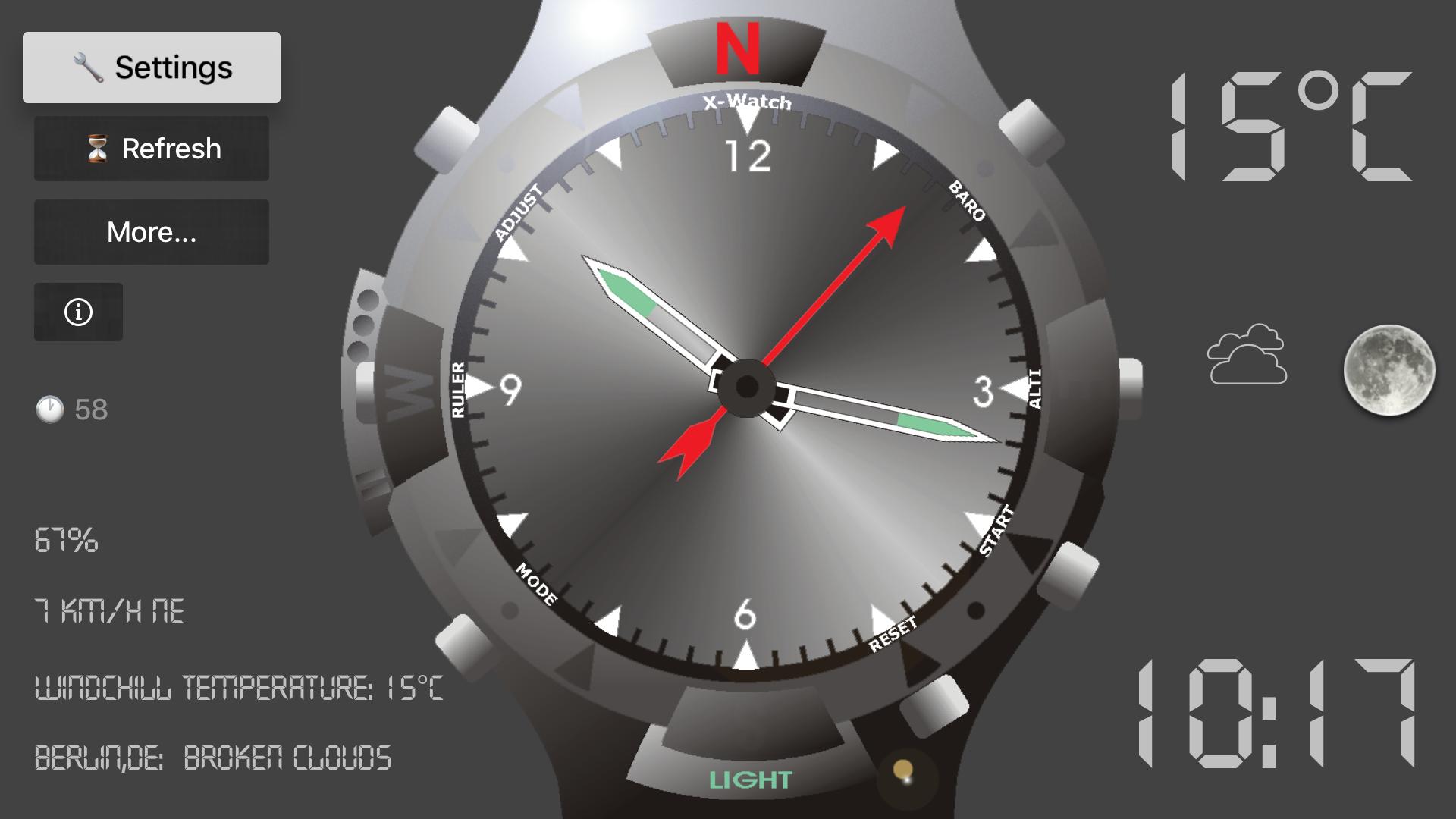 X-Watch for TV screenshot 1