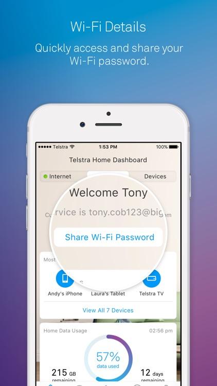 Telstra Home Dashboard™ screenshot-6