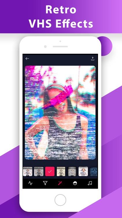 Glitch Video Photo 3D Effect s by Dynasty Apps LLC