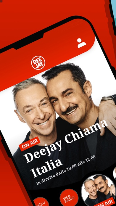 Screenshot of Radio Deejay2