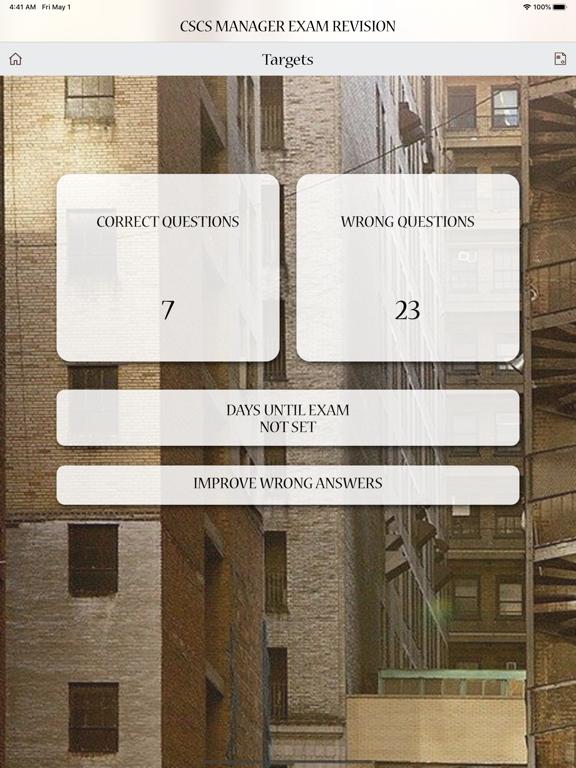 CSCS Manager Exam Revision screenshot 15
