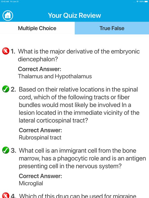 Neurology Quiz screenshot 9