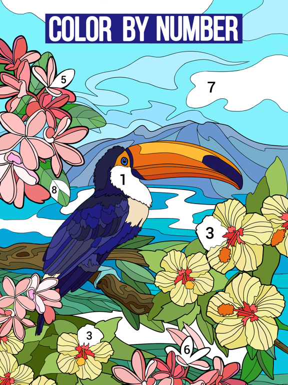 Happy Color™ – Paint by Number screenshot