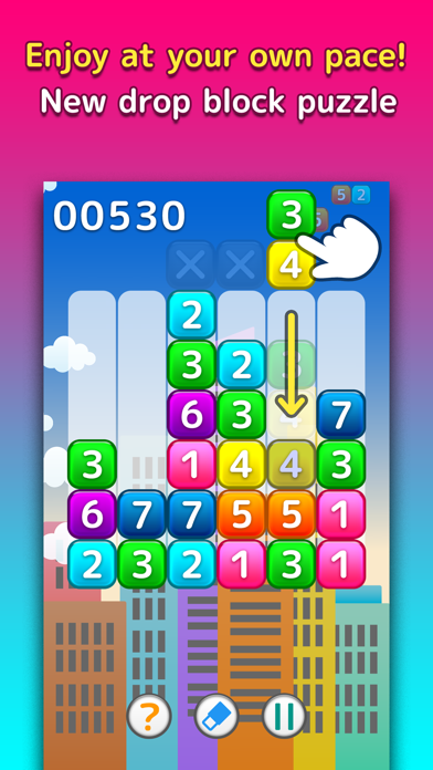 NumPlus - Number Block Puzzle screenshot one