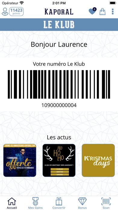Screenshot #2 pour Le KLUB - KAPORAL