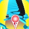 スタックジャンプボール - カラー3Dランニング競技