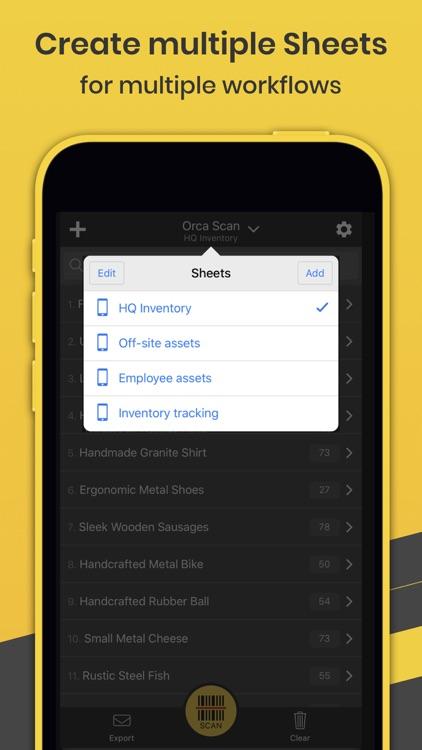 Orca Scan - Barcode App screenshot-6