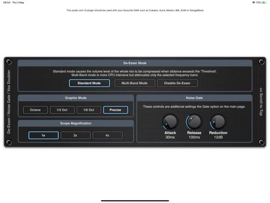 De-Esser AUv3 Audio Plugin screenshot 8