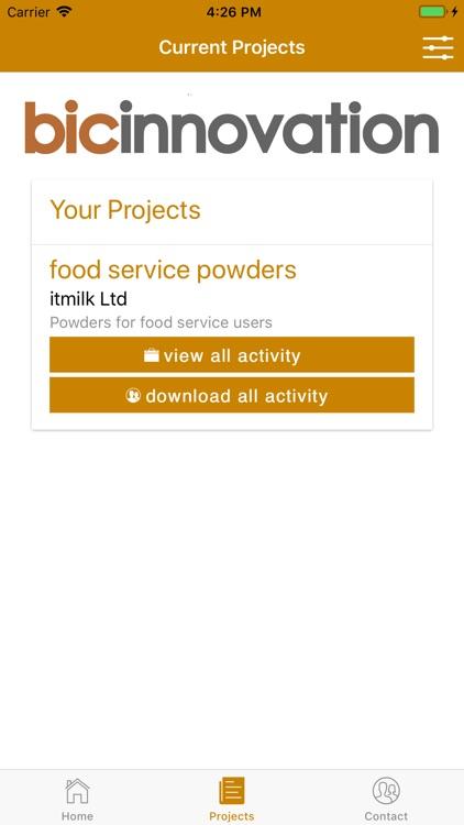 BIC Innovation Project Logger screenshot-3
