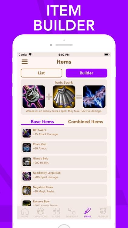 Builds for TeamFight Tactics screenshot-4