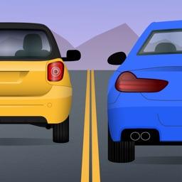 Traffic car driving race game