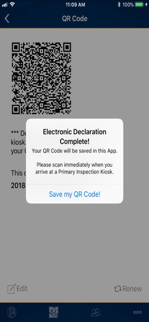 CanBorder – eDeclaration on the App Store