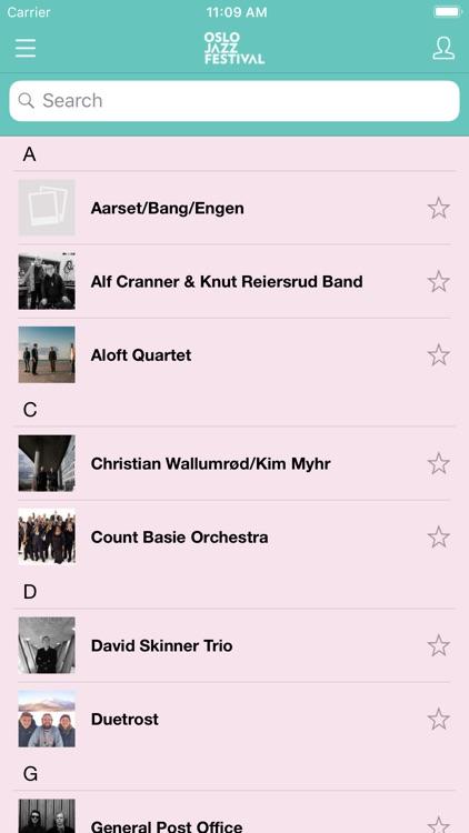 Oslo Jazz Festival 2019 screenshot-3