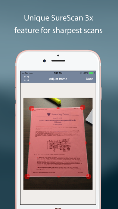 TurboScan™: document scanner Screenshot