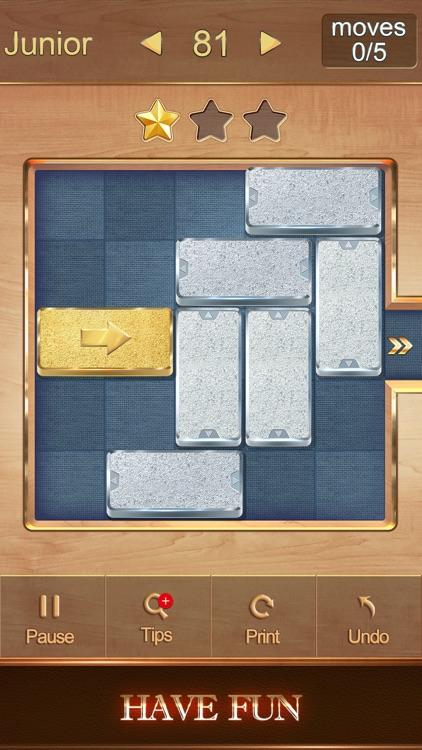 Golden Unblock Puzzle screenshot-3