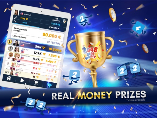 2048 Real Money Competition screenshot 7