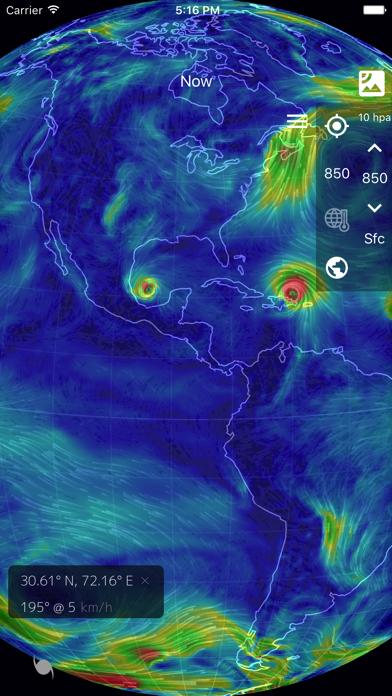 Wind Map: 3D Hurricane Trackerのおすすめ画像3