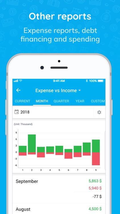 Money Keeper: Finance, Note screenshot-8