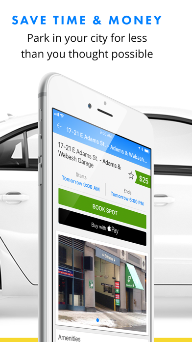 download SpotHero - Find Parking Nearby apps 2