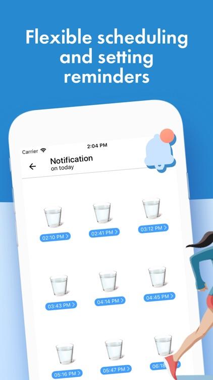 Water Tracker Pro & reminder screenshot-3