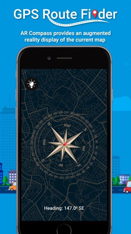 GPS Route Finder ! screenshot-7