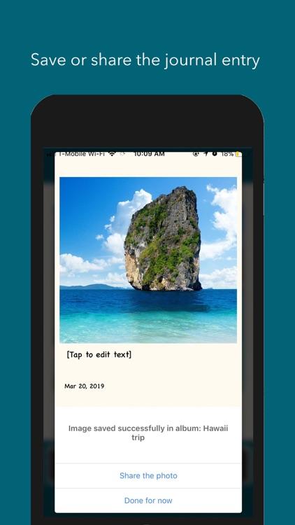 Pic Journal screenshot-4