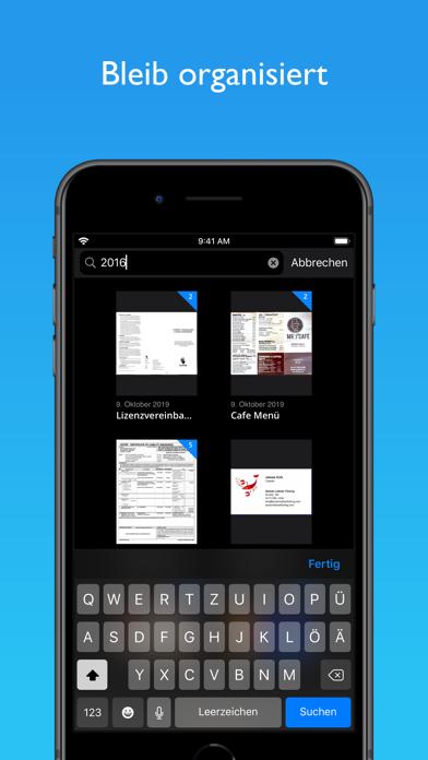 JotNot Scanner App ProfiScreenshot von 4