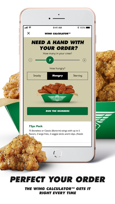 Wingstop review screenshots