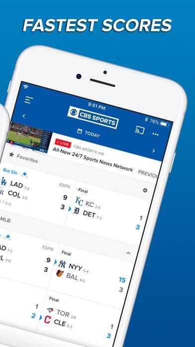 download CBS Sports App Scores & News apps 6