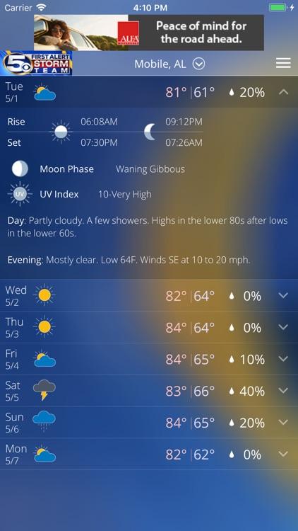 WKRG Weather screenshot-4
