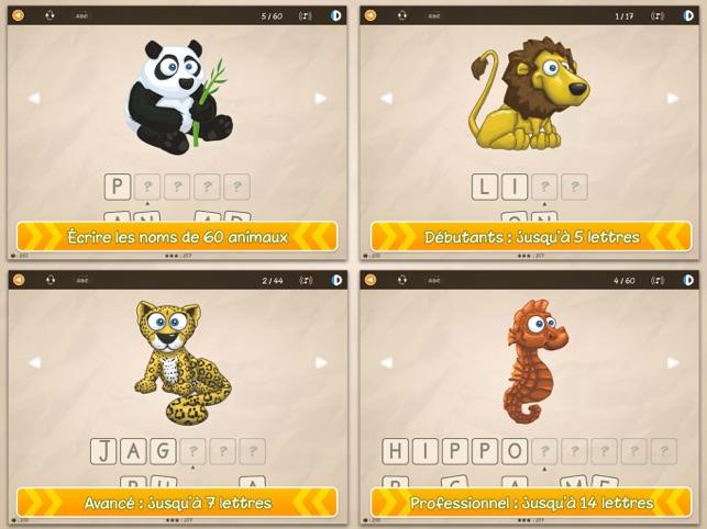 L Alphabet Des Animaux Pro Dans L App Store