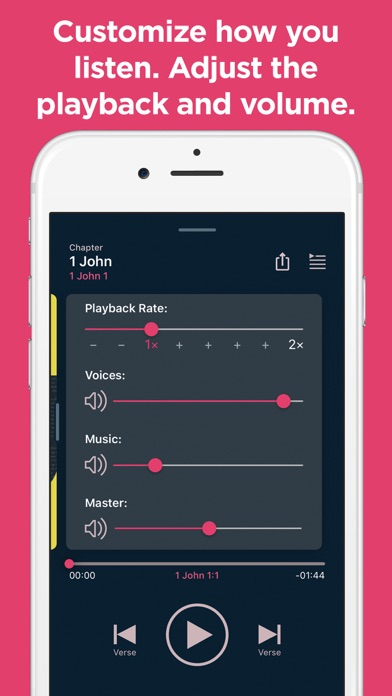 Screenshot for Dwell: Audio Bible in United States App Store