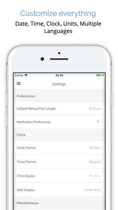 MyFast Intermittent Fasting Screenshot