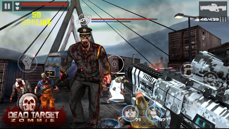 DEAD TARGET - Zombie Shooting screenshot-0