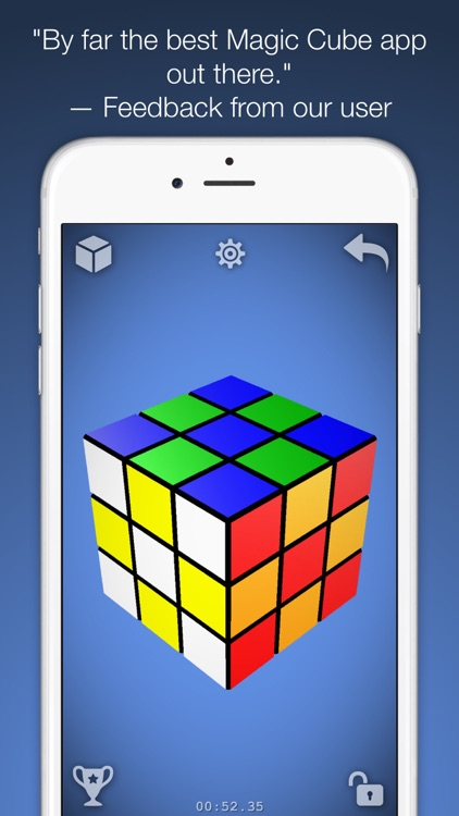 Magic Cube Puzzle 3D screenshot-0