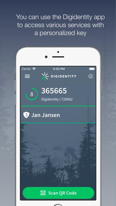 Digidentity screenshot one